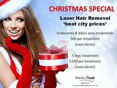 The silly season is upon us! Fab laser specials  available  right now.