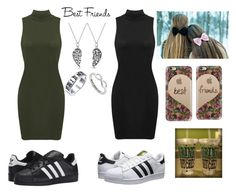 """Dear Best Friend...I Love You"" by elizabetta-i ❤ liked on Polyvore featuring adidas Originals, Casetify, Bling Jewelry and Eternally Haute"