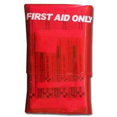 Include a mini first aid kit with band-aids.  Red Mini Bandage Buddy First Aid Kit - 18 Piece