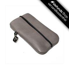 #Vandebag - #iPhone Skin - grau - echtes Rinderleder und handgefertigt - 49,00€ - Versand kostenlos