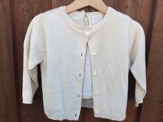 NWT-Baby-Gap-Girls-100-Silk-Sweater-Cardigan-and-Shirt-L-XL-12-24-Months-J173
