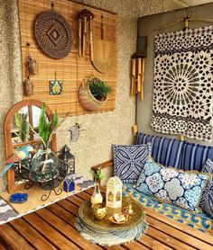 India Home Decor, Ethnic Home Decor, Small Balcony Decor, Balcony Ideas, Outdoor Balcony, Modern Balcony, Morrocan Interior, Indian Bedroom Decor, Rental Home Decor