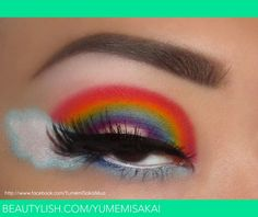 Somewhere over the eyelid...is there a pot of gold at the end of the eyelashes? (Yumemi Sakai Mua)
