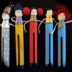 Latest Peg doll brooches | Flickr - Photo Sharing!