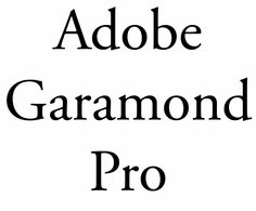 Adobe Garamond Pro - Old Style - typography - type - font family Research Triangle, Brand Identity, Branding, Book Maker, Typography, Lettering, Font Family, Choose Me, Book Design