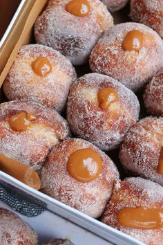 *This post may contain affiliate links. Please see my disclosure for more details!* Delicious and Homemade Cinnamon Salted Caramel Doughnuts! So, this doughnut recipe is. Patisserie Cake, Janes Patisserie, Donut Recipes, Baking Recipes, Baking Ideas, Baking Hacks, Baking Tips, No Bake Vanilla Cheesecake, Rolo Cheesecake