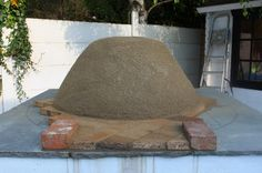 pizza ovens outdoor plans | FLOWER POT KITCHEN: CLAY OVEN BUILDING YOUR WOOD FIRED PIZZA OVEN