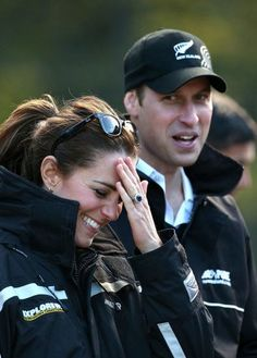 See all the best pictures of Prince William and Kate Middleton — including that time she couldn't keep it together during their sporty day.