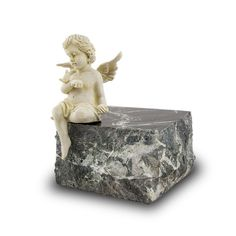 Cherub Infant Marble Cremation Urn