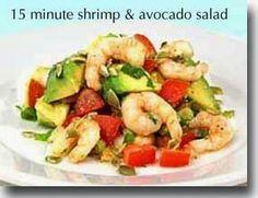 Easy Healthy Recipes: Shrimp Salad