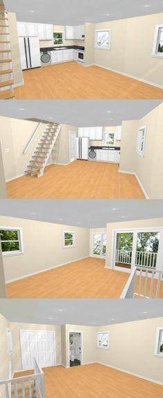 16x26 House w/ Loft -- #16X26H4 -- 722 sq ft - Excellent Floor Plans