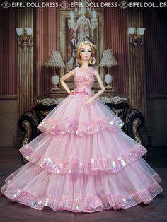 Check out the new dress on my eBay shop :) http://www.ebay.com/usr/eifeldolldress | Flickr - Photo Sharing!