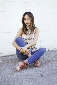 ec919f5836b9 Aimee Song from Song of Style announces her brand ambassadorship for french  cosmetics brand