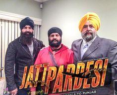 #KSMakhan , #JaspreetSinghAttorney at Law USA and #Rustam during the Shooting of #JattPardesi.