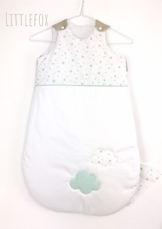 Mint and beige baby sleeping bag Nursery Room, Beige, Etsy, Couture, Tops, Women, Ideas, Fashion, Baby Racoon
