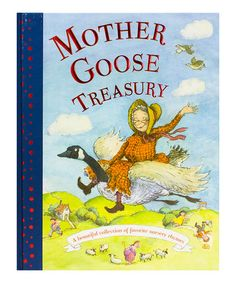 This Mother Goose Hardcover is perfect! #zulilyfinds