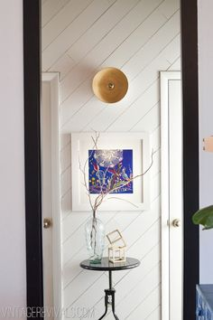 Creating a vignette in a space that might otherwise be left empty.  --LYC