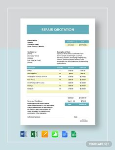 FREE Sample Quotation Template - PDF | Word (DOC) | Excel | Apple (MAC) Pages | Apple Numbers | Template.net Sales Quotation, Quotation Sample, Quotation Format, Biodata Format, Sales Quotes, Download Free Movies Online, Quote Template, Service Quotes, Good Communication