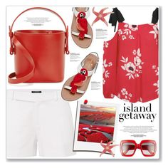 """""""ISLANDS GETAWAY"""" by nanawidia ❤ liked on Polyvore featuring Nico Giani, George, Lauren Ralph Lauren, Kate Spade, Ultimate, Polaroid, Gucci, polyvoreeditorial, polyvorecontest and islandgetaway"""