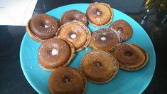 Ντόνατς – Βάφλες – Dukan's Girls Doughnut, Desserts, Food, Tailgate Desserts, Deserts, Eten, Postres, Dessert, Meals