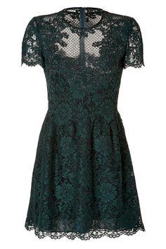 LaceOverlayDressbyVALENTINO | Luxury fashion online | STYLEBOP.com