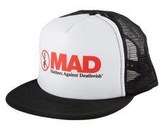 Mad Mesh Snapback Cap by DEATHWISH