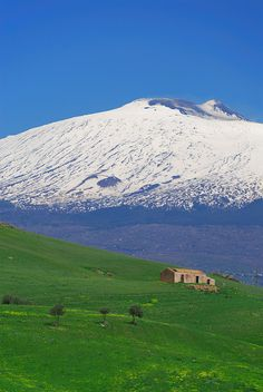 Mt. Etna, Sicily, Italy. My view for 18 years from my hometown.