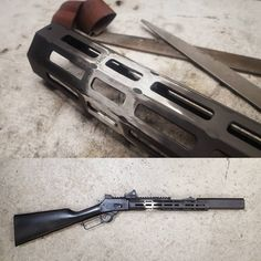 Phil Rock aka @bufallodiller has a thing for Marlin lever guns and it shows. The Marlin 1894 SBR. 357 Mag / 38spl Barrel cut down to 11.5″ and threaded 9/16-24 , SilencerCo Osprey 9, Action Job, heavily modified Midwest Industries MLOK forend, Wild West Guns Trigger and Rear sight, XS sight rail with Vortex Viper, … Read More … Tactical Rifles, Firearms, Shotguns, Weapons Guns, Guns And Ammo, Marlin Lever Action Rifles, Zombie Apocalypse Survival Weapons, How To Make Metal, Fire Powers