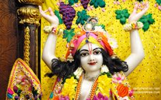 To view Nitai Close Up Wallpaper of ISKCON Chowpatty in difference sizes visit - http://harekrishnawallpapers.com/sri-nitai-close-up-wallpaper-006/