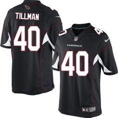 Nike Limited Pat Tillman Black Men's Jersey - Arizona Cardinals #40 NFL Alternate