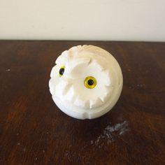 Little alabaster owl paperweight #vintage #etsy