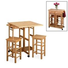 small kitchen table small kitchen space saving ideas i recently bought this table and it - Small Kitchen Table Ideas
