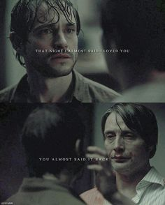 At the Edge Hannibal Lecter, Nbc Hannibal, Hugh Dancy, Mads Mikkelsen, Hannibal Funny, Hannibal Quotes, Gotham, Frederick Chilton, Sherlock