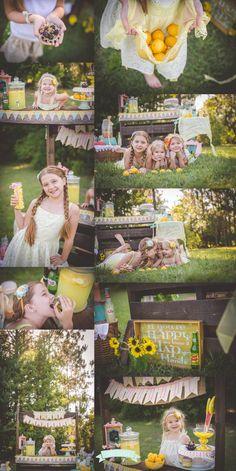 Lemonade Stand Mini Session by Tara Merkler Photography in Central Florida