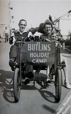 Nan, Grandad and Dad.(previous pinner) Thanks for the gre. Nan, Grandad and Dad.(previous pinner) Thanks for the great pic. Butlins Holidays, British Holidays, Nostalgic Images, British Seaside, Camping Holiday, History Of Photography, Great Pic, Camping Life, British History