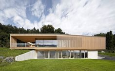 Modern House Design : Haus K by Helena Weber Architecture Design, Residential Architecture, Amazing Architecture, Stommel Haus, Feldkirch, Modern Lodge, House On The Rock, Modern House Design, Design Awards