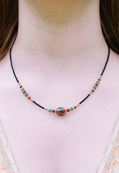 MOMILANI+Beaded+Necklace+