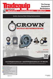 2013 First November Issue http://www.tradequip.com/digital-issues/show_edition?digital_id=211 Crown Oilfield Instrumentation design, develop & build a full range of oil field instrumentation to meet the needs of the oil & gas industry. Downtime is not only frustrating, but costly. Crown understands this & focuses on making sure our instruments do their job right. Being an industry leader in the instrumentation field, we pride ourselves on the quality, accuracy & durability of every Crown…