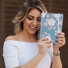 Simple Planner Blue, Planner 2018, Simple Planner, vipapier, planner floral, papelaria fofa, planejador semanal, papelaria, journal, papelaria de luxo: www.vipapier.com