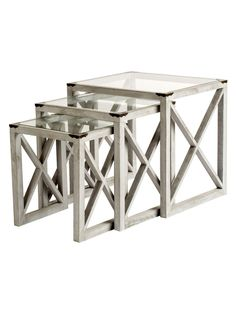 Emme Nesting Tables (Set of 3) by Statements by J at Gilt