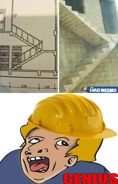 Esse fez curso de português e foi ser engenheiro civil! Kkkkk