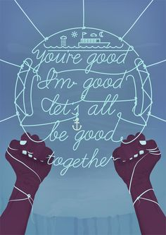 BE GOOD TOGETHER by James Oconnell, via Behance