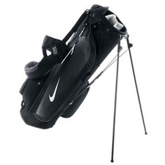 NIKE SPORT LITE STAND BAG. LIGHTWEIGHT CONSTRUCTION, CUSTOM STORAGE The Nike Sport Lite Carry Golf Bag is made with ultra-lightweight, durable materials and highly specialized compartments for easier hauling and premium organization through 18 holes. BENEFITS  Five-way, two full-length divider system with putter well for keeping clubs in order Nike EquaFlex revolving double-strap system for comfortable carrying Fleece-lined valuables pocket for…