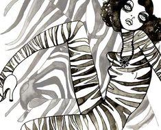 Gloomy Fashion Illustrations: Cassandra Rhodin's Watercolors Mix 1920s Style and Sadness