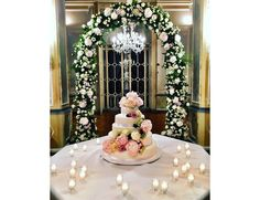 That Cake from Eleonora Carisi's Wedding Dress