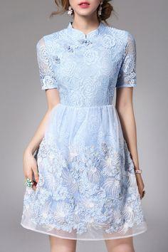 Lace Qipao Dress