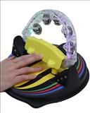 Lighted Musical Tambourine- Lights, music and vibration! Looking for a fun, exciting musical instrument? Our Lighted Musical Tambourine is it! Just swipe or slightly push the tambourine and watch the multi-colored lights flash, hear the music, and feel the vibration. The tambourine provides fantastic auditory, visual and tactile stimulation. You can use it alone as a musical instrument or use as a switch to activate any toy.