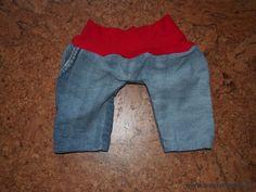 Puppenhöschen aus alter Jeans