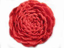 Crochet XL-flower - tutorial for the first 10 rounds (diagram pattern Crochet Gratis, Crochet Chart, Crochet Motif, Diy Crochet, Crochet Stitches, Crochet Hooks, Crochet Flower Tutorial, Crochet Flower Patterns, Crochet Flowers