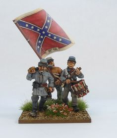 Painting Confederate regiment, step by step | MiniStories